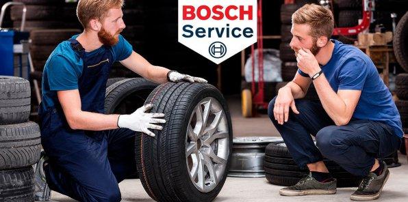 Скидки до 70% на услуги автосервиса Bosch