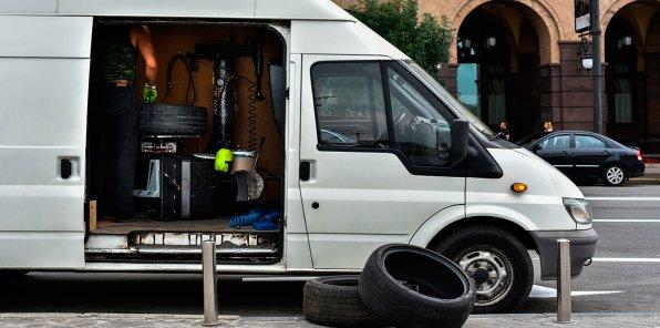 Скидки до 50% на выездной шиномонтаж и хранение шин