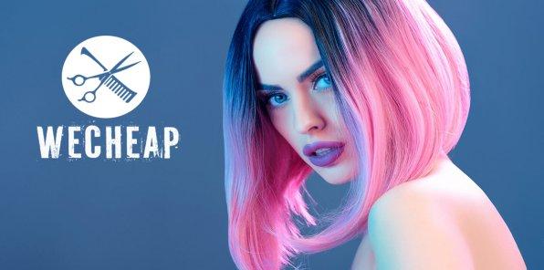 Скидки до 70% на услуги для волос от сети WeCheap