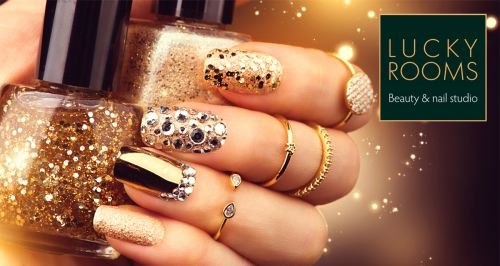 Скидки до 65% на ногтевой сервис в студии Lucky Rooms