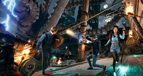 Скидка 50% в парке виртуальной реальности VRpark