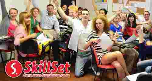 Скидка 59% на обучение в школе английского языка SkillSet