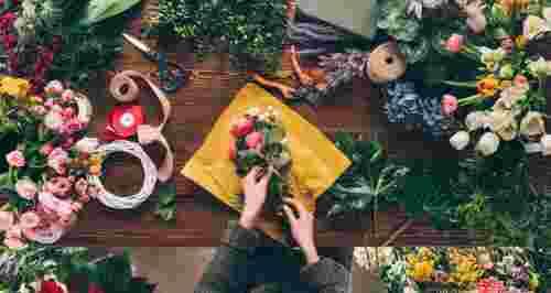Скидки до 54% на курсы флористики
