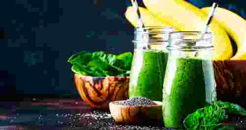 Витаминные смузи: быстрые рецепты