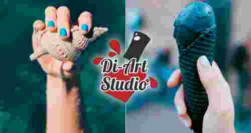 Скидки до 40% на услуги студии маникюра Di-Art Studio