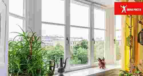 Скидка 40% на окна и двери от компании «Окна Роста»