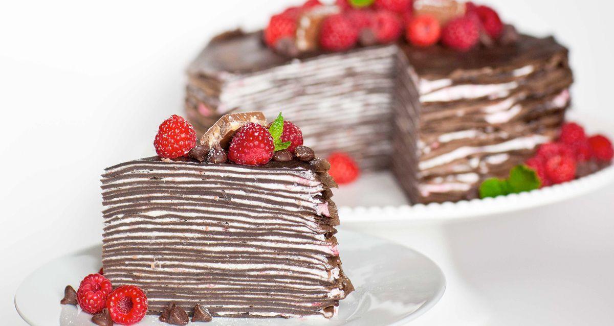 Блинный торт: 3 рецепта