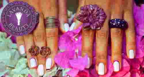Скидки до 30% на услуги для ногтей в LAVANDA BEAUTY
