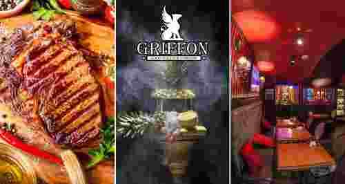 Скидка до 100% на меню и напитки в рестобаре GRIFFON в центре города