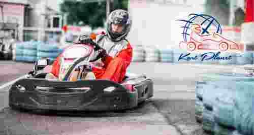 Скидка 50% на заезды для взрослых и детей в KartPlanet