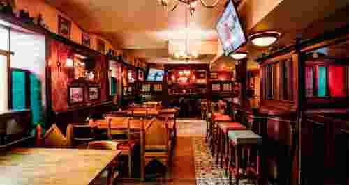 Скидка 30% на меню в Big Jim's Pub