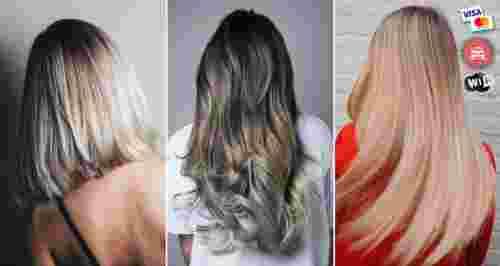 Скидки до 100% на услуги для волос в студии в центре города