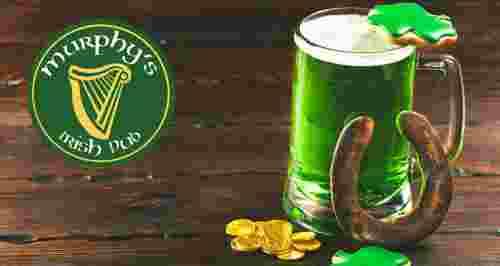 Скидки до 50% на меню в ирландском пабе Murphy's Pub