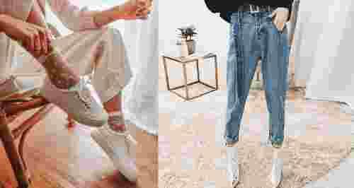 3 супертренда осени: джинсы, носки и кроссовки