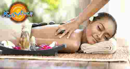 Скидка 50% на балийский или тайский массаж + пилинг
