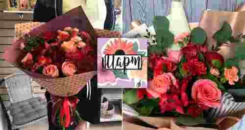 Скидки до 51% на букеты в цветочной мастерской «Март»