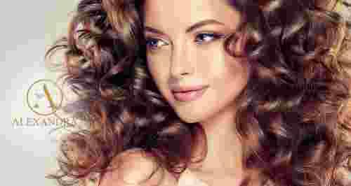 Скидки до 65% на услуги для волос в ALEXANDRA BEAUTY ZONE