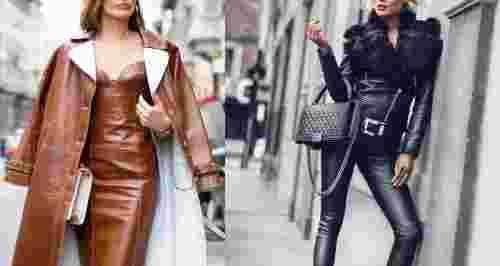Кожаный total-look: как носить