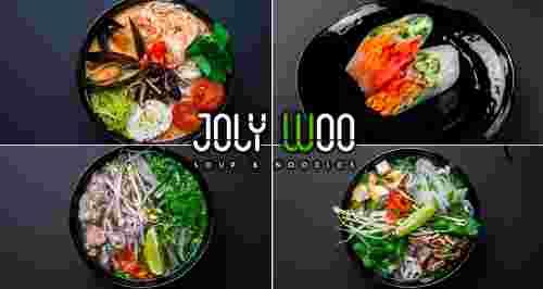 Скидки до 50% на все меню в кафе Joly Woo на Загородном