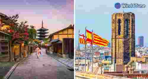 Скидка 30% на онлайн-путешествия в Японию и Испанию