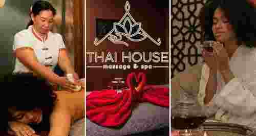 Скидки до 50% на массаж и SPA в ТHAI HOUSE