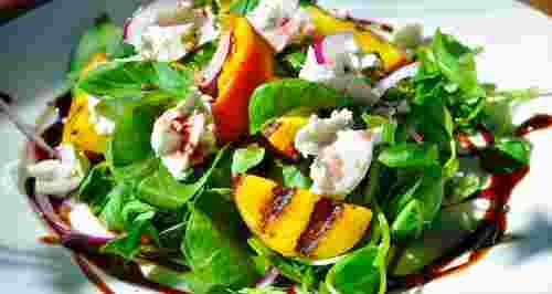 3 блюда с оригинальным сочетанием сезонных фруктов и овощей
