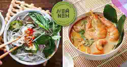 Скидка 50% в ресторане вьетнамской кухни Nem Nem