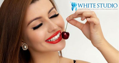 Сеть студий косметического отбеливания зубов White studio