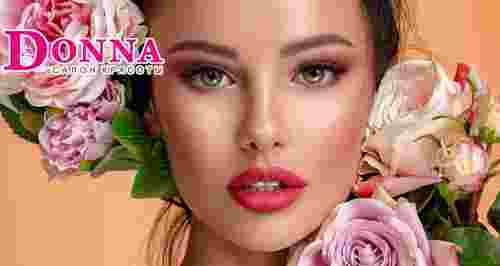 Скидки до 65% на косметологию, маникюр, окрашивания в салоне красоты DONNA