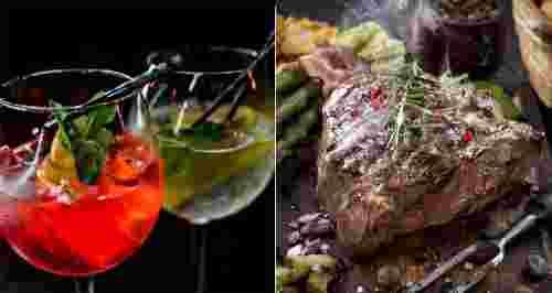 Скидка 50% на все меню и напитки в MALINA BAR-CLUB