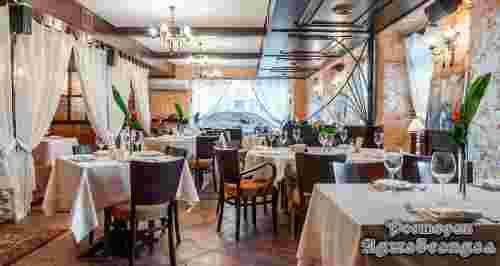 Скидка 50% в ресторане «Аджабсандал» в центре города