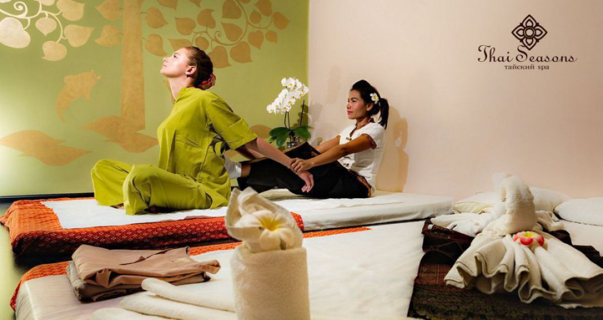 Скидки до 40% на SPA в салоне Thai Seasons