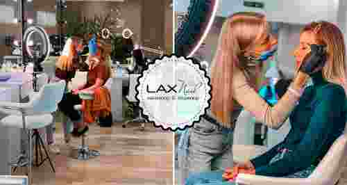 Скидка 50% на услуги для бровей в новом салоне LaxNail