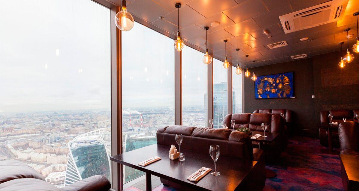 Скидка 50% на свидание для двоих на 75 этаже «Москва-Сити»