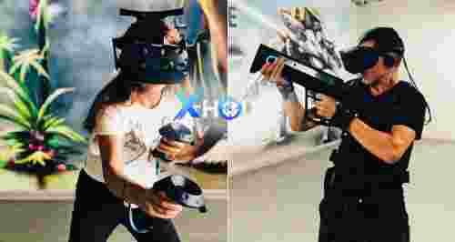 Скидки до 50% на игры в лазертаг и VR от X-House