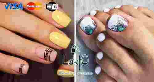 Скидки до 100% на ногтевой сервис в «LakЮ»