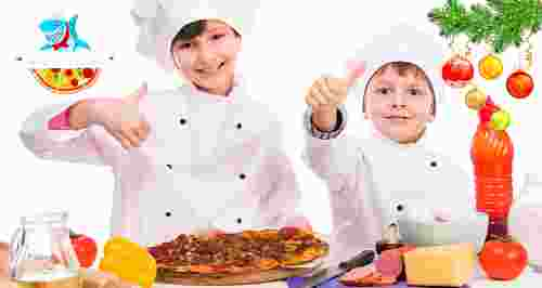Скидка 50% на мастер-классы и новогодний утренник от ресторана МореPizza