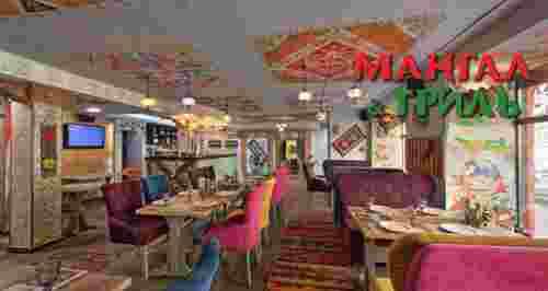Скидки до 50% на напитки и меню от Mangal Grill в центре города