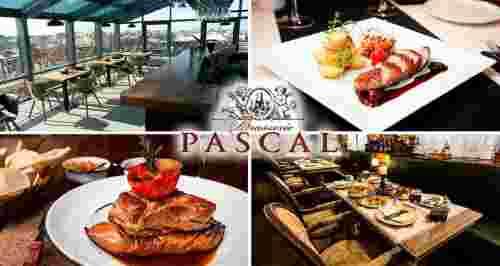 Скидки до 50% от панорамного ресторана «Брассери Паскаль»