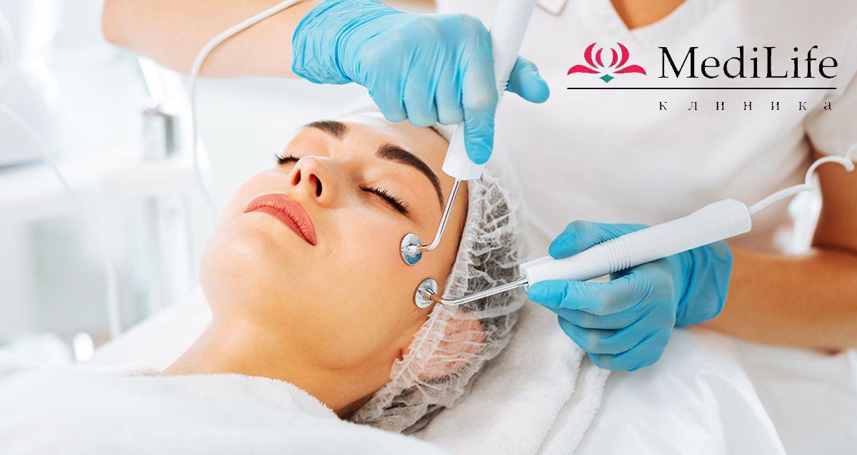 Скидки до 68% на косметологию и лазерную эпиляцию в MediLife