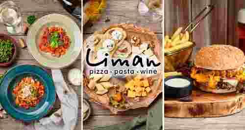 Скидки до 50% в двух итальянских ресторанах Liman