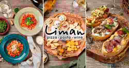 Скидка 30% на все в 2-х итальянских ресторанах Liman