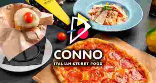 Скидки до 50% на все от ресторана итальянского стрит-фуда