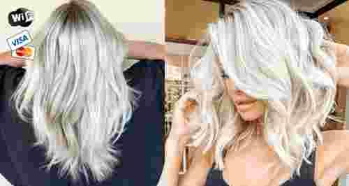Скидки до 80% на уход за волосами в 2-х салонах рядом с метро