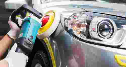 Скидки до 64% на химчистку и полировку авто