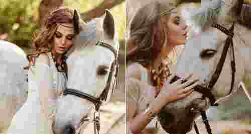 Скидки до 51% на прогулку на лошади с фотосессией