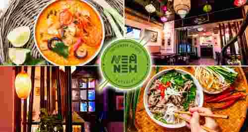 Скидки 30% на все меню и напитки в ресторане Nem Nem
