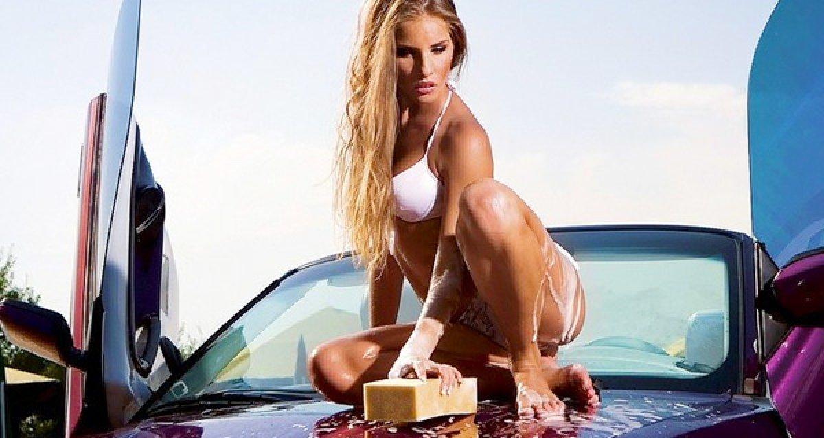 Автомойка в москве в бикини