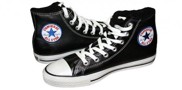 Зимние кеды Converse!