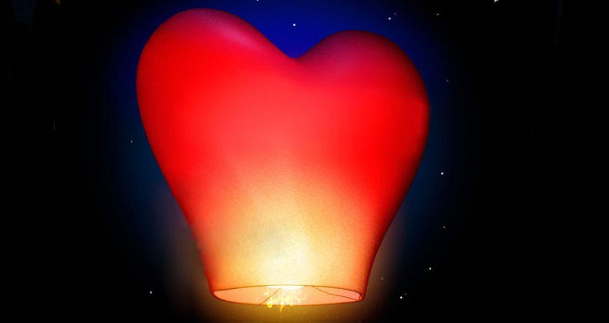 Небесные фонарики любви